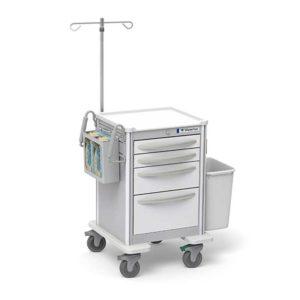 4 Drawer Junior Short IV Cart