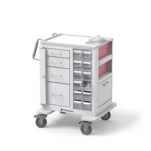 4 Drawer Short Phlebotomy Cart