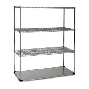 4 Tire Combination Wire Shelving Unit