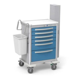 6 Drawer Difficult Airway Cart with Add-Ons