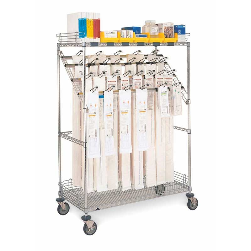 Catheter Storage Mobile Shelving Unit