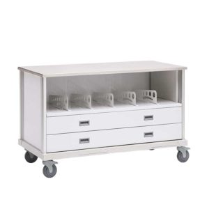ECP Cart with Drawers and Dividers