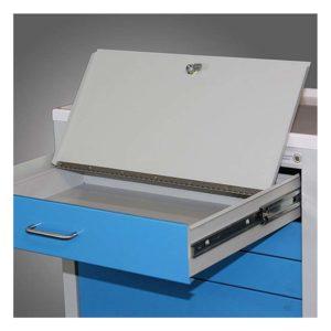 Full Drawer Locking Security Box