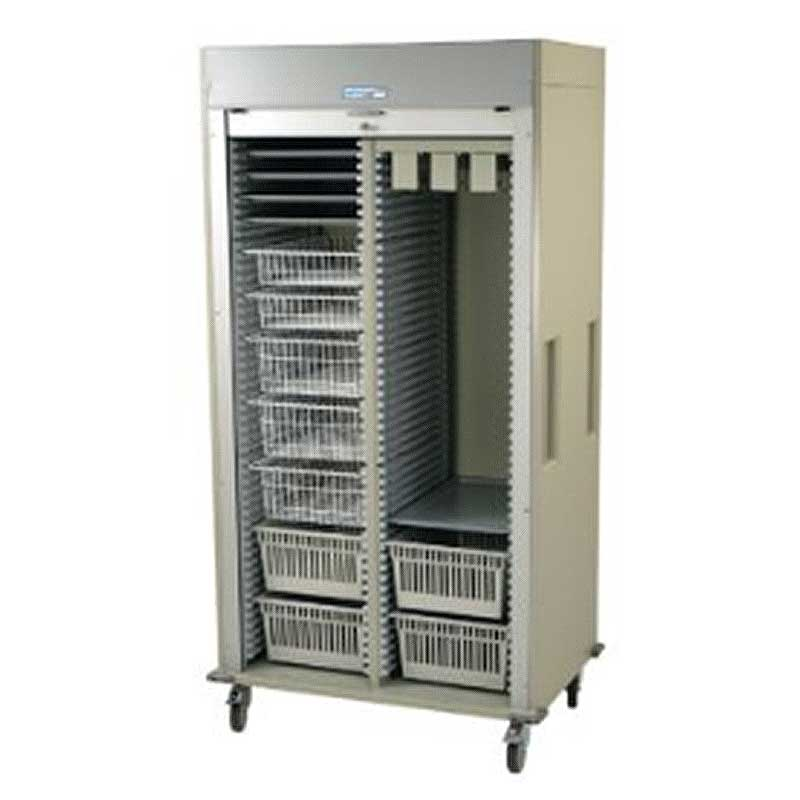 Harloff Double Column Storage Cart