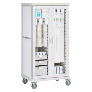 Long and Short Catheter Cart
