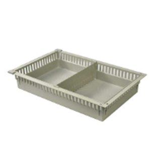 Medical Storage Cart Half Basket