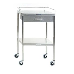 Stainless Steel Instrument Table with Drawer