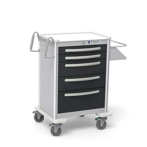 5 Drawer Tall Case Cart