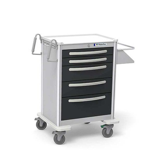 5 Drawer Tall Case Cart