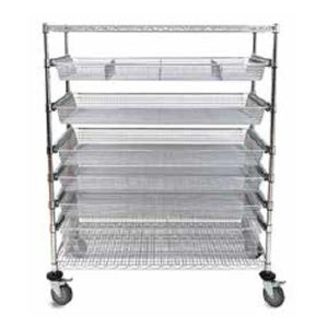 Fine Mesh Basket Suture Cart