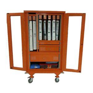Medical Storage Cart Hinged Door