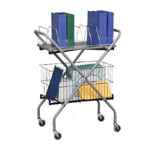Mobile Supply Binder Cart